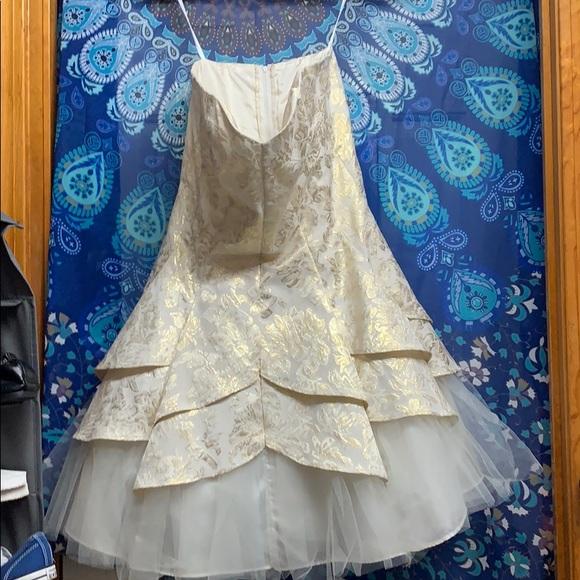 Deb Dresses & Skirts - White strapless dress